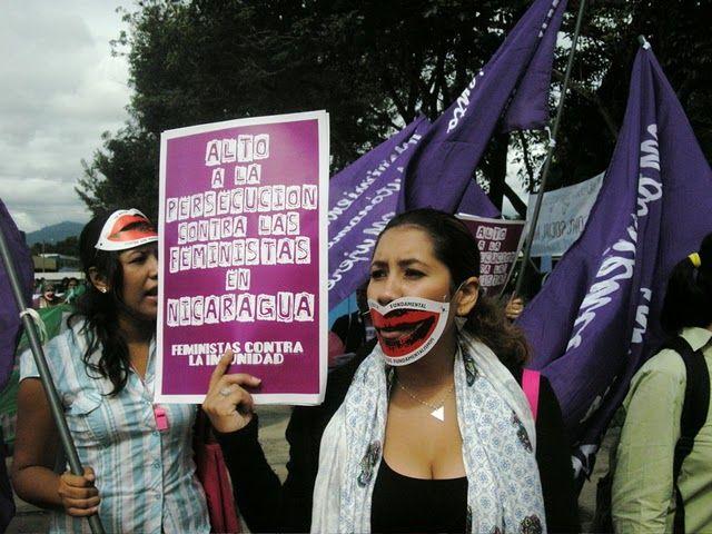 Feministas en Nicaragua