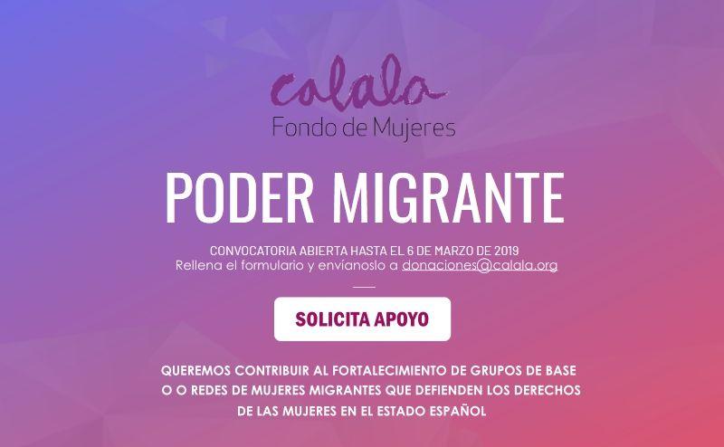 Financiación grupos mujeres migrantes España