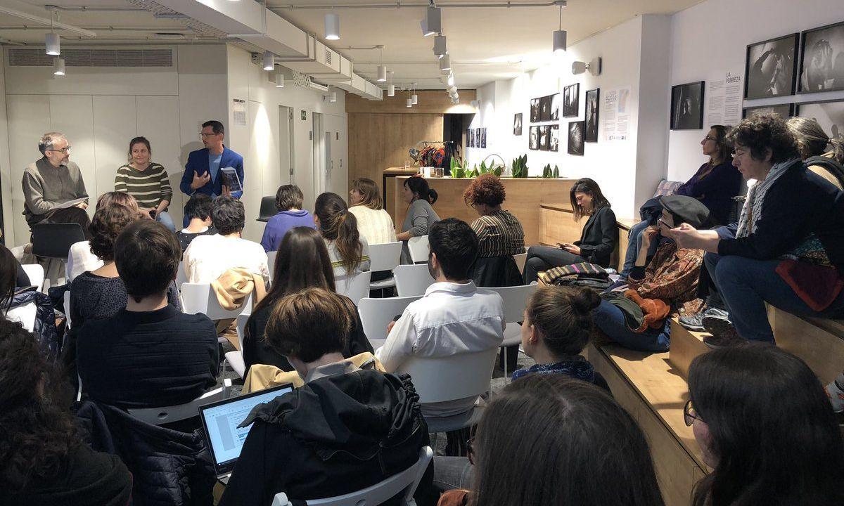 Presentación informe comunicación feminista Barcelona